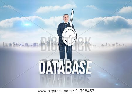 Corporate warrior against database