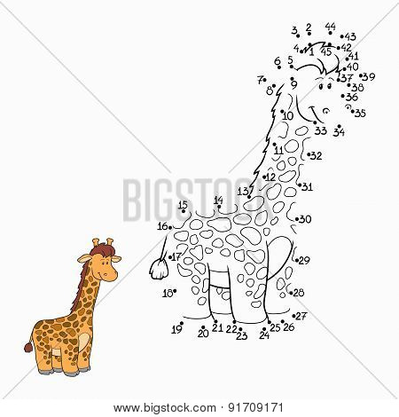 Numbers Game (giraffe)