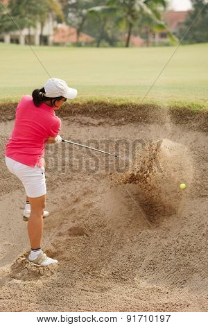Hitting Out From The Bunker