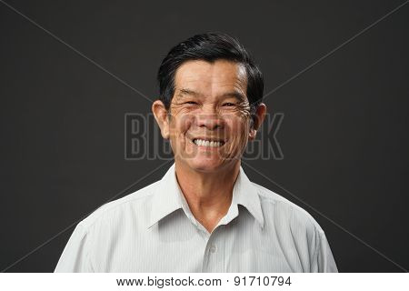 Cheerful Old Man
