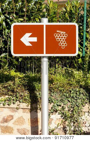 wine route, Beaujolais, Rhone-Alpes, France