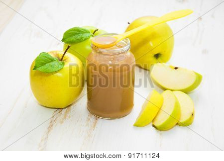 Baby Apple Puree