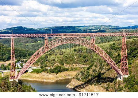 Garabit Viaduct, Cantal Department, Auvergne, France