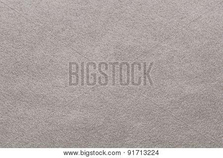 Grey Fleece Fabric Background Texture