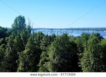 Bridge In Kostroma City