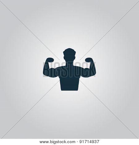 Bodybuilder Fitness Model icon