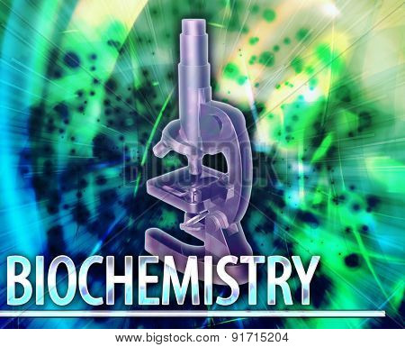 Abstract background digital collage concept illustration biochemistry science
