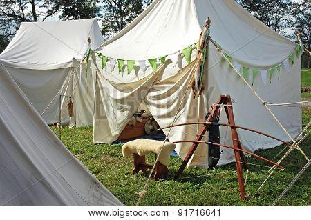 Medievil Tents