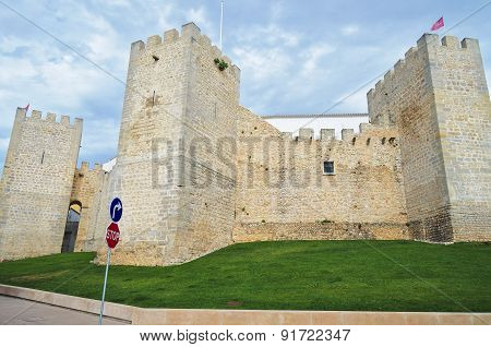 Medieval castle of Loule, Portugal