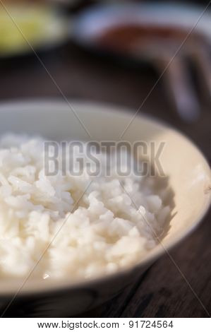 Soft-boiled Rice