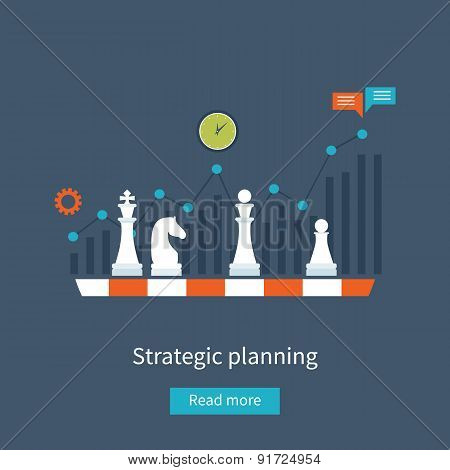 Data analysis, strategy planning