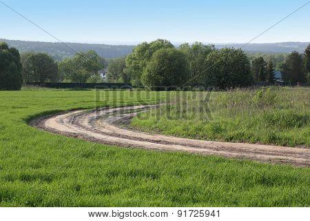Spring Rural Landcsape