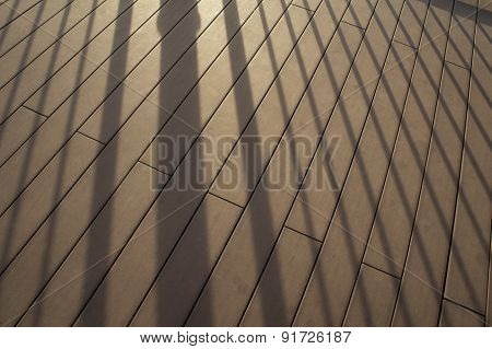 Shadow Reflection Light Sunset Shade Background Detail Concept