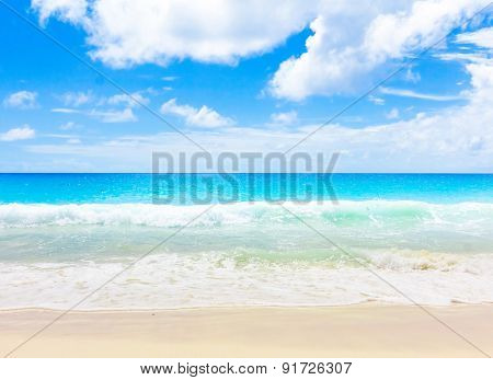 Surf Beach Sea