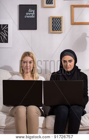 Girls With Laptops