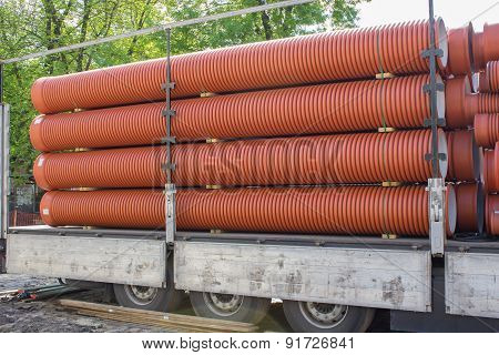 Large Sewer Pipes
