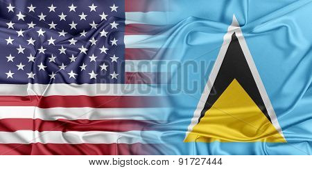 USA and Saint Lucia