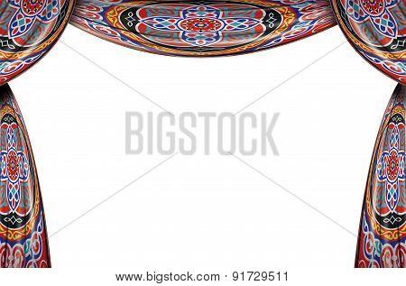Festive Ramadan Curtains Full Set