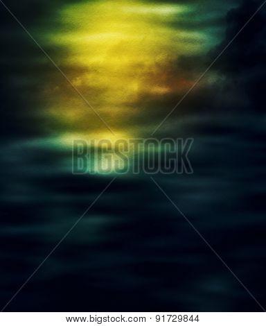 Grunge Clouds Texture