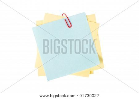 Sticky Posts With Paper Clip