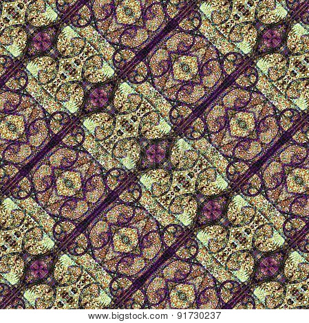 Digital Ornate Artistic Pattern
