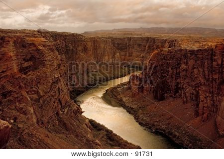 Beginning Of Grand Canyon
