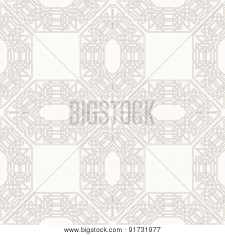 Tangled Pattern Based On Traditional Arabic