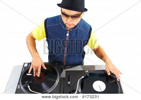 Working Disc Jockey
