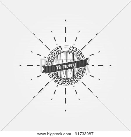Brewery logo or emblem