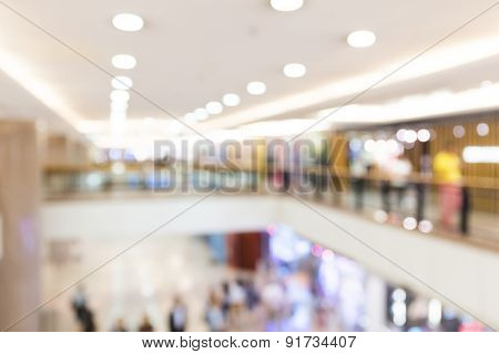 Blur background of Shopping store