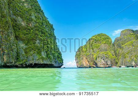 Maya Bay heavenly beach, Thailand