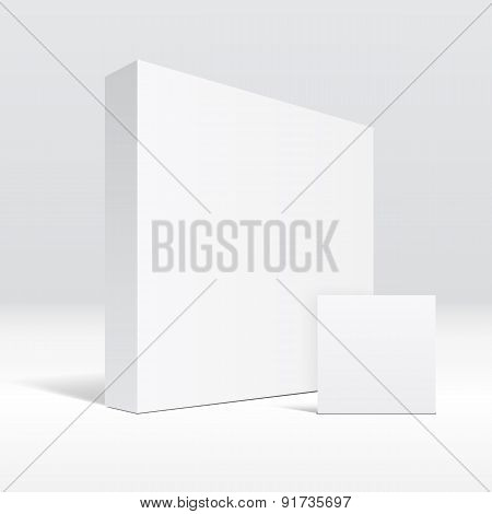 3D blank packaging box and envelope