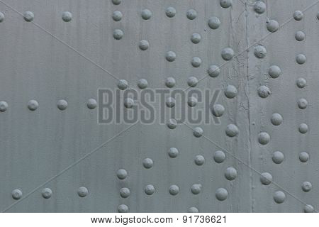 Steel Riveted Surface