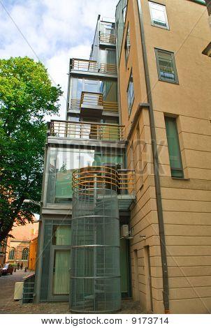 new Building In Old Riga