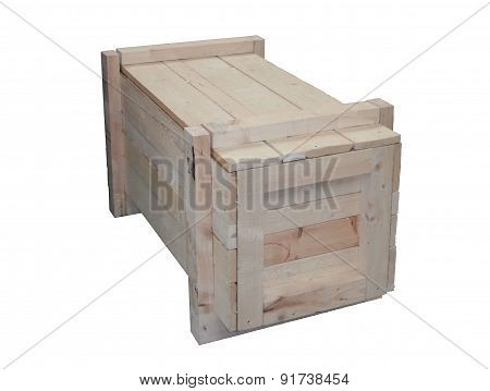 Timber shipping crate