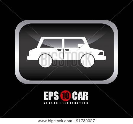 Transport design over black background vector illustration