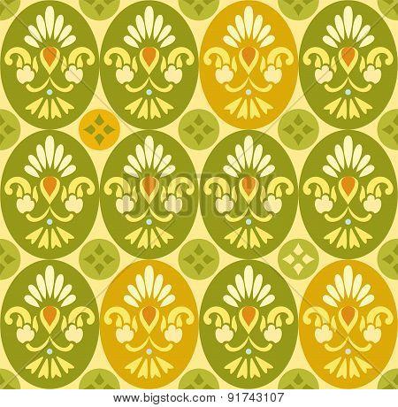 Flower Color Pattern, Ovals A...