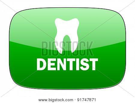 dentist green icon
