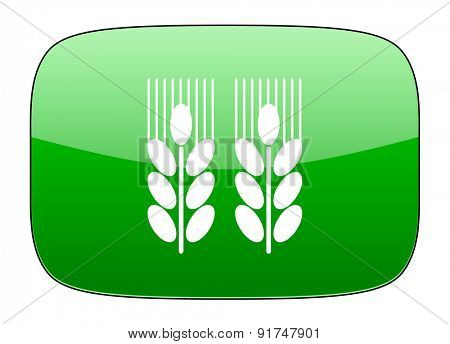 agricultural green icon