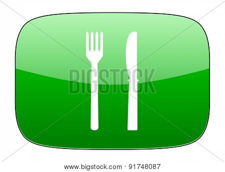 eat green icon restaurant sign