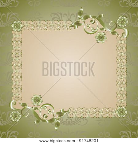 Vector vintage backgrounds for text.