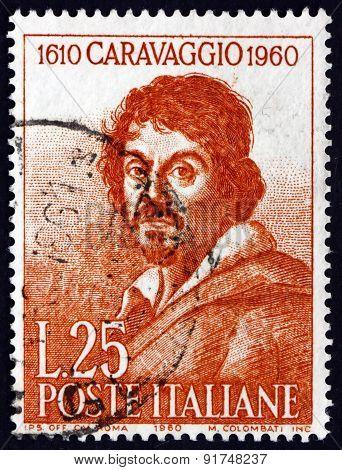Postage Stamp Italy 1960 Michelangelo Merisi Da Caravaggio, Pain