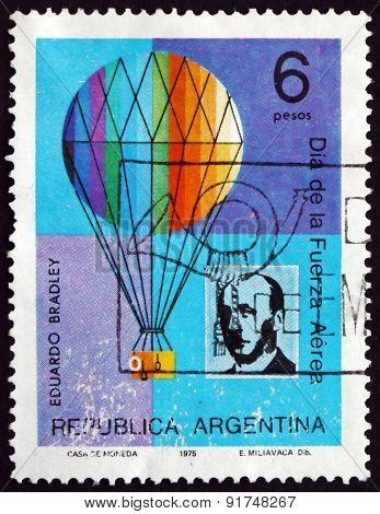 Postage Stamp Argentina 1975 Eduardo Bradley