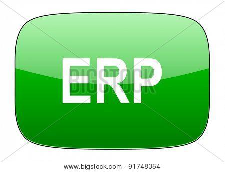 erp green icon