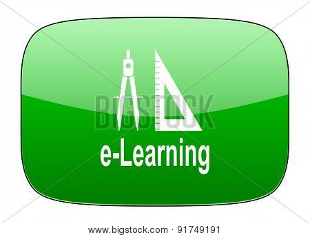 learning green icon