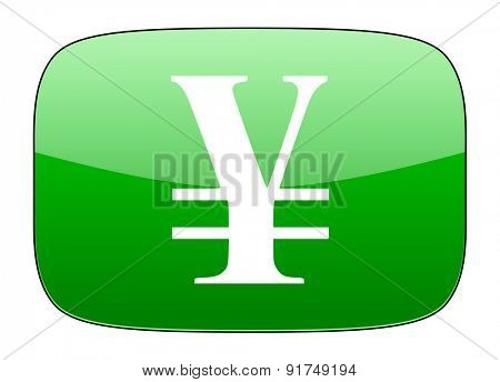 yen green icon