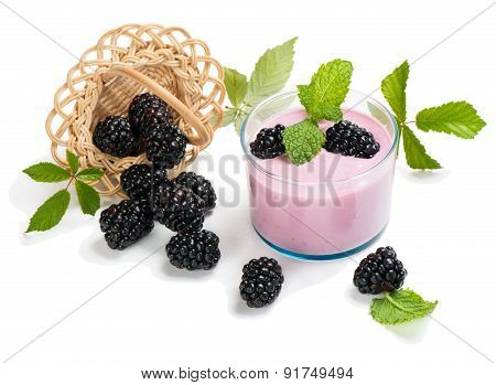Fresh Berry Milkshake