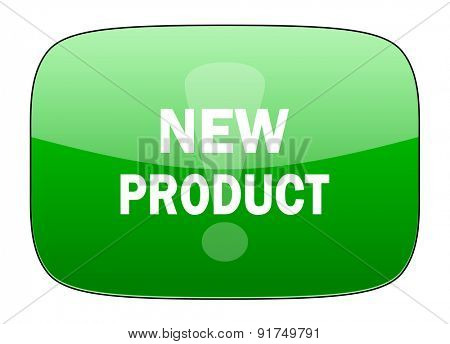 new product green icon