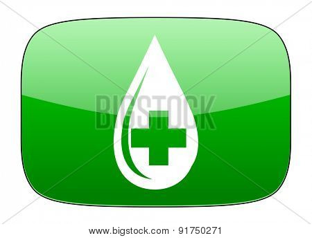 blood green icon