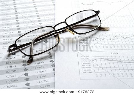 Glasses On The Report